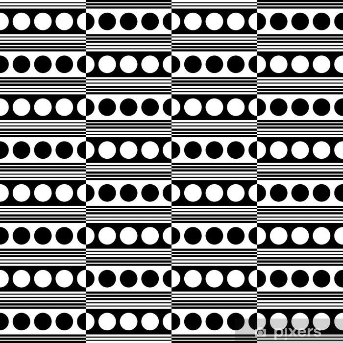 Carta da Parati in Vinile Seamless pattern - Moda