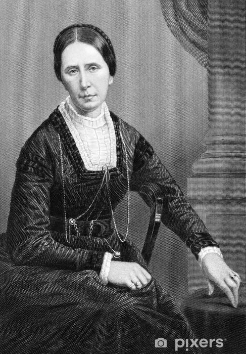 Papier peint vinyle Angela Burdett-Coutts, 1er baronne Burdett-Coutts - Femmes