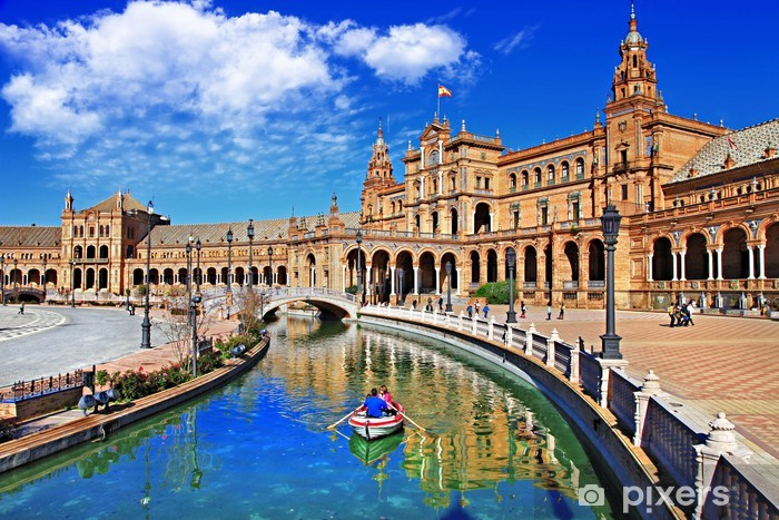 beautiful Sevilla, Spain Pixerstick Sticker - Spain