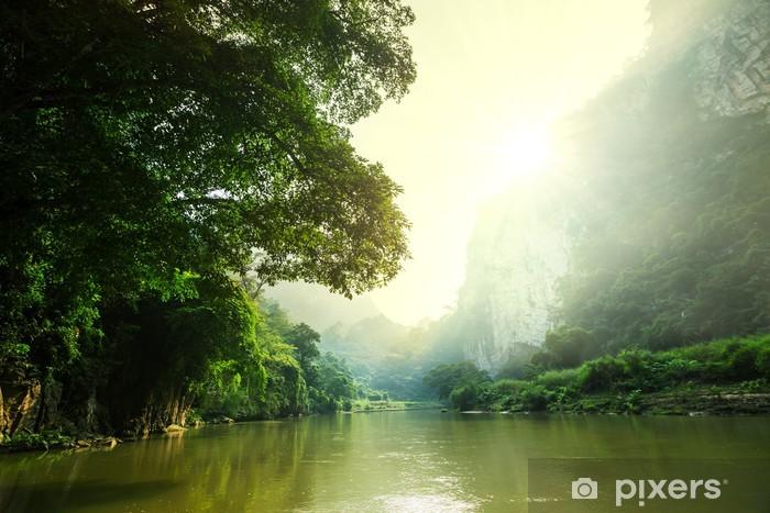 Sticker Pixerstick Tropical river - Asie