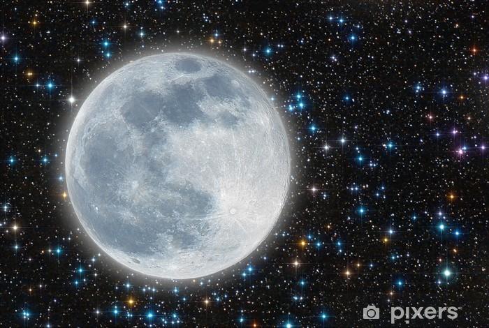 Naklejka Pixerstick Oświetlony moon - Tematy