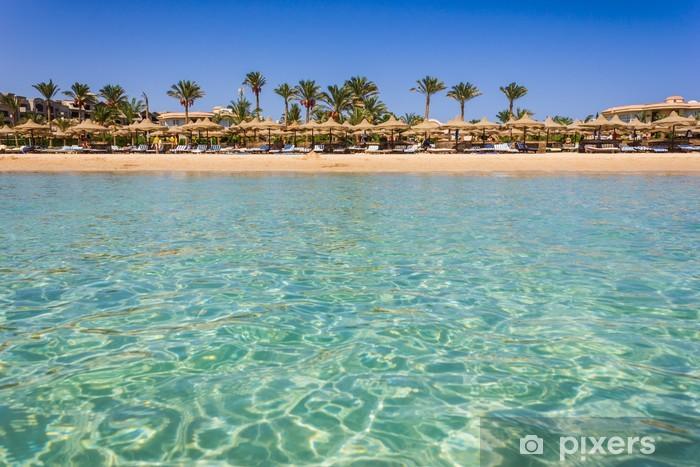Vinilo Pixerstick La costa de África en Egipto por mar - Otros