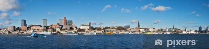 Papier peint vinyle Port de Hambourg - Europe