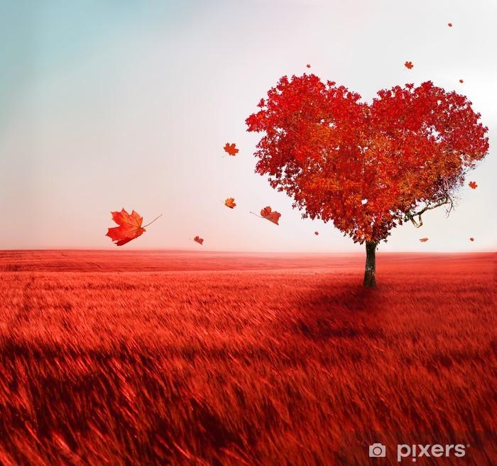 Vinilo Pixerstick Árbol del amor - Temas