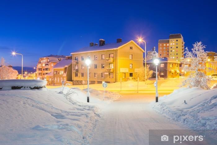 Sticker Pixerstick Kiruna Cityscape - Europe
