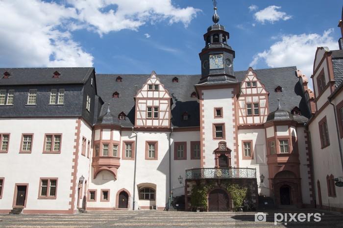 Fototapeta winylowa Weiburger Zamek - Europa