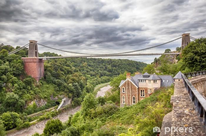 Fototapeta winylowa Zobacz na most w Bristol - Zabytki