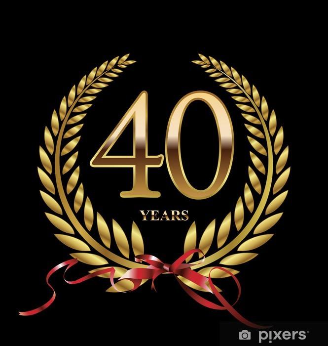 Jubileum 40 Jaar Gedicht