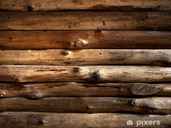 Texture Of Old Timber Wood Wall Sticker Pixerstick