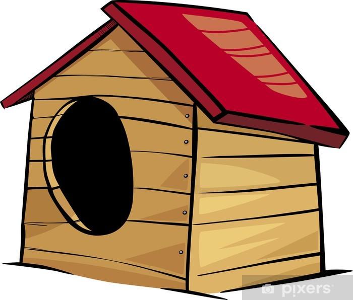 Poster Hundehütte clip art Cartoon-Abbildung - Säugetiere