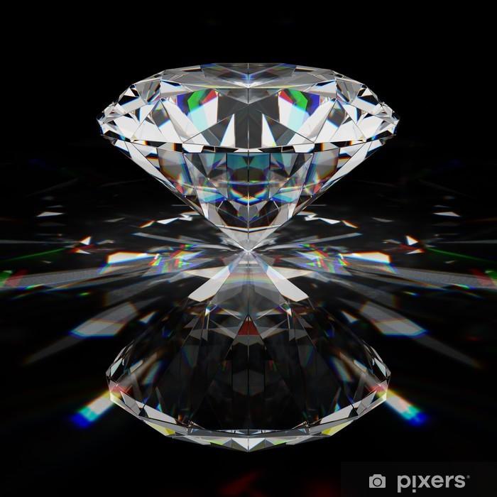 Naklejka Pixerstick Brilliant diament - Sukces i osiągnięcia