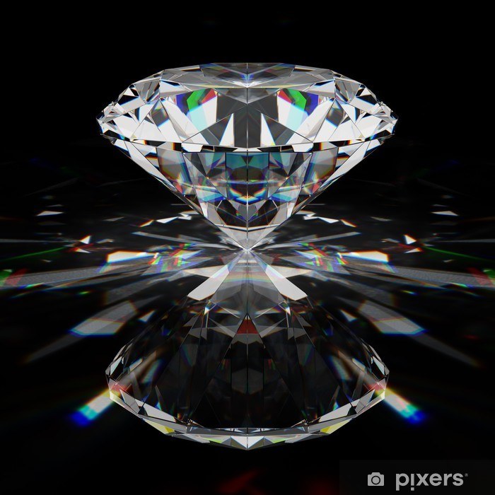 Pixerstick Sticker Briljant diamant - Succes en Prestatie