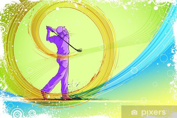 Papier peint lavable Golf player - Golf