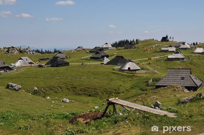 Papier peint vinyle Slovénie paysages divers - Vacances