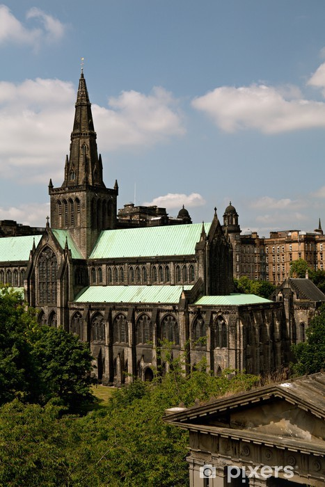 Glasgow St.Mungos Cathedral and Necropolis. Vinyl Wall Mural - Europe