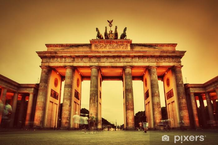 Brandenburg Gate, Berlin, Germany Pixerstick Sticker - Berlin
