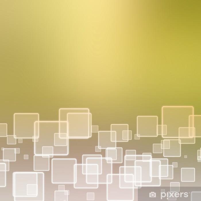 Pixerstick Aufkleber Abstrakter Hintergrund mit Quadraten - Hintergründe