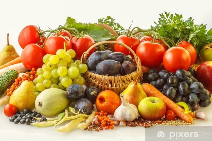 fototapete herbst obst und gemüse • pixers®  wir leben