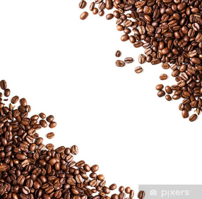 Coffee Beans Background Or Texture Closeup Coffee Concept