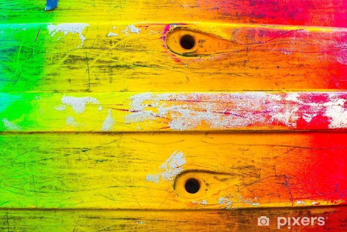 Zelfklevend Fotobehang Rasta-kleuren - Texturen