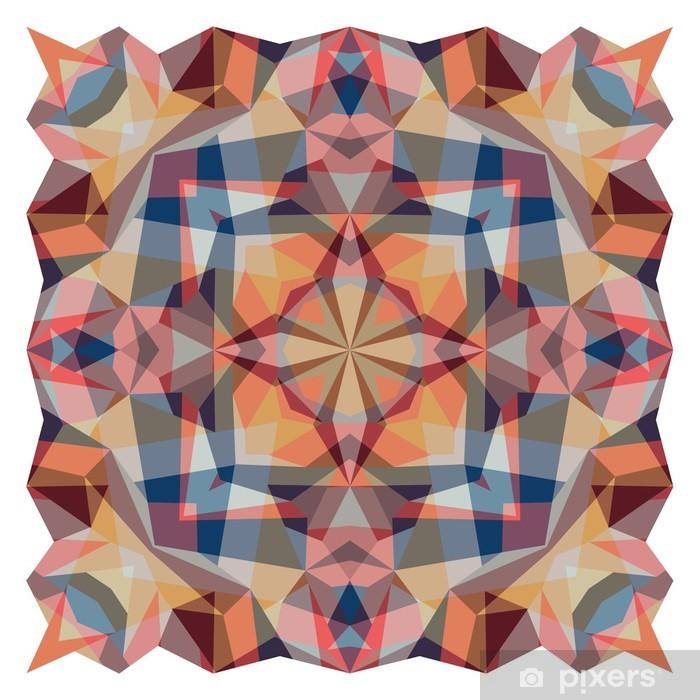 Nálepka Pixerstick Vektor eps abstraktní mozaika pozadí vzor - Pozadí