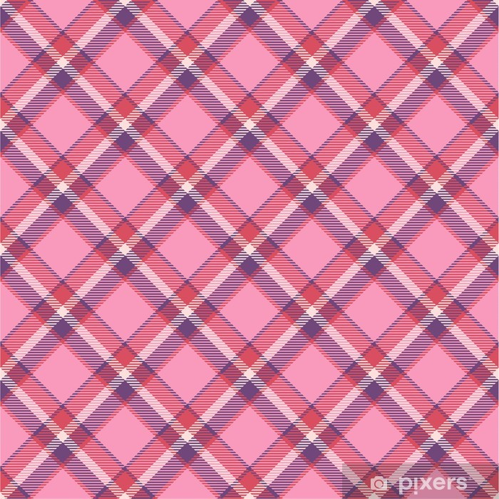 Seamless tartan pattern Vinyl Wall Mural - Networks and the Internet