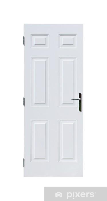 White Door Sticker Pixers We Live To Change