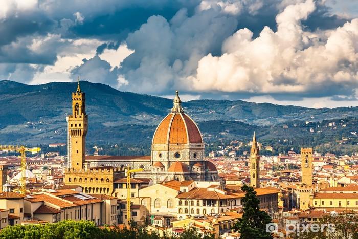 Papier peint vinyle Voir sur Florence - Thèmes