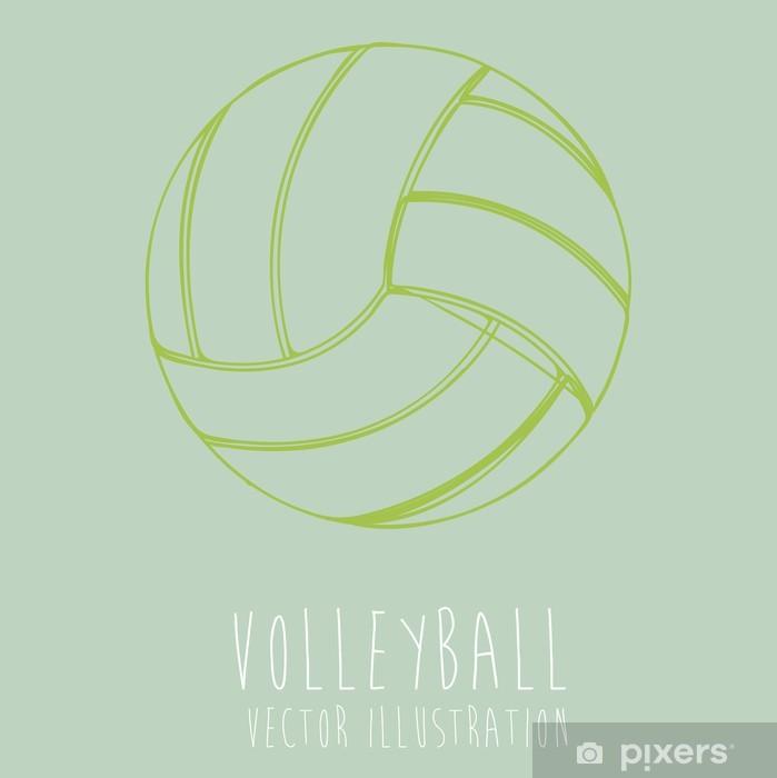 Poster Volley ball - Attrezzature sportive