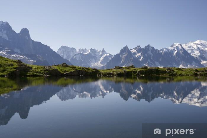 Fototapeta winylowa Alpy - Jeziora