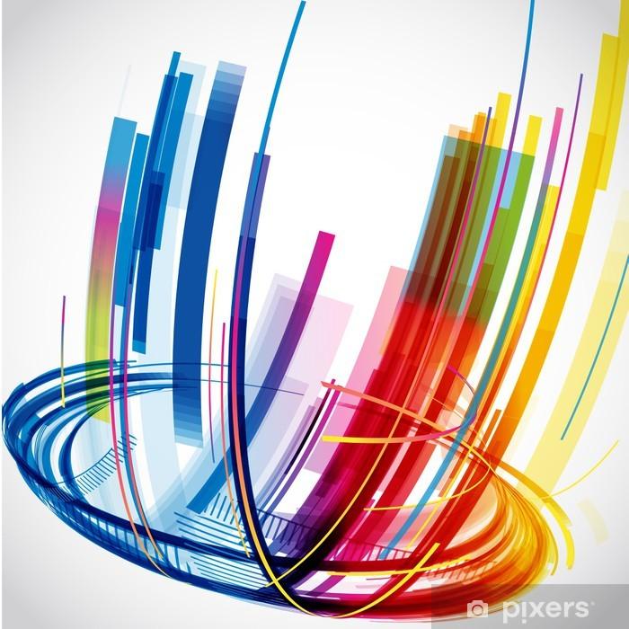 Poster Abstract Background. Vecteur - Sur la route