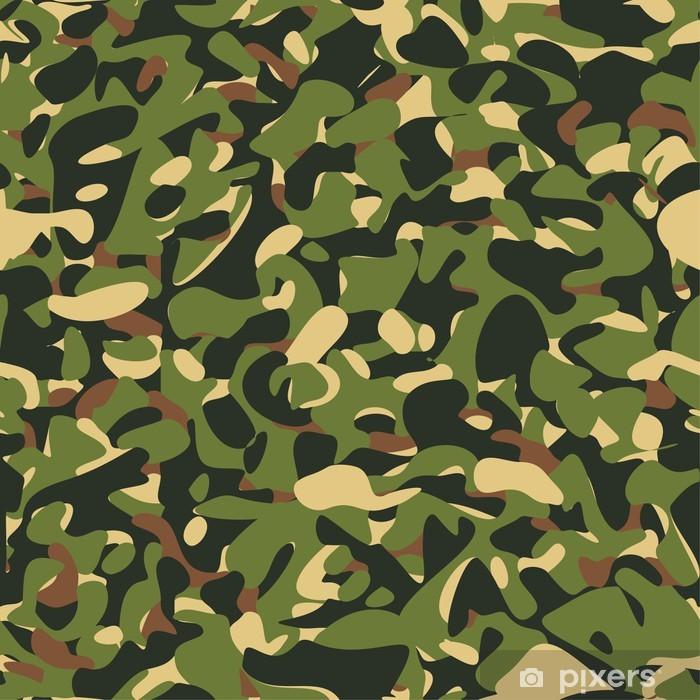 Carta Da Parati Mimetica.Carta Da Parati Mimetico Militare Modello Verde Pixers Viviamo