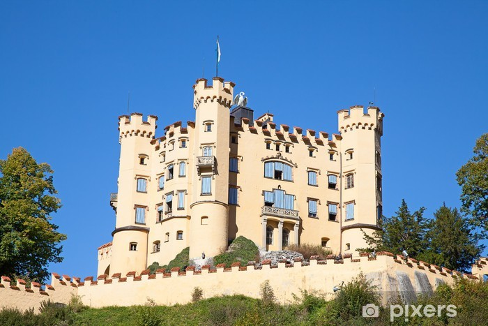 Fototapeta winylowa Zamek Hohenschwangau - Europa