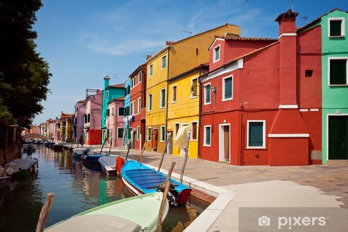 Papier peint vinyle L'île de Burano, Italie - Europe