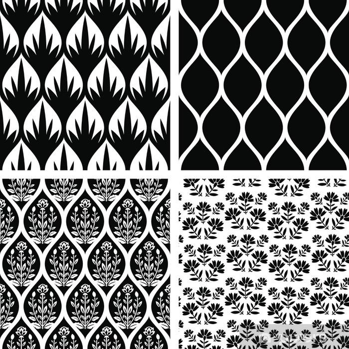 Papier peint vinyle Seamless patterns - Mode