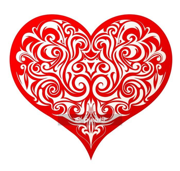 Adesivo da Parete Heart shape -