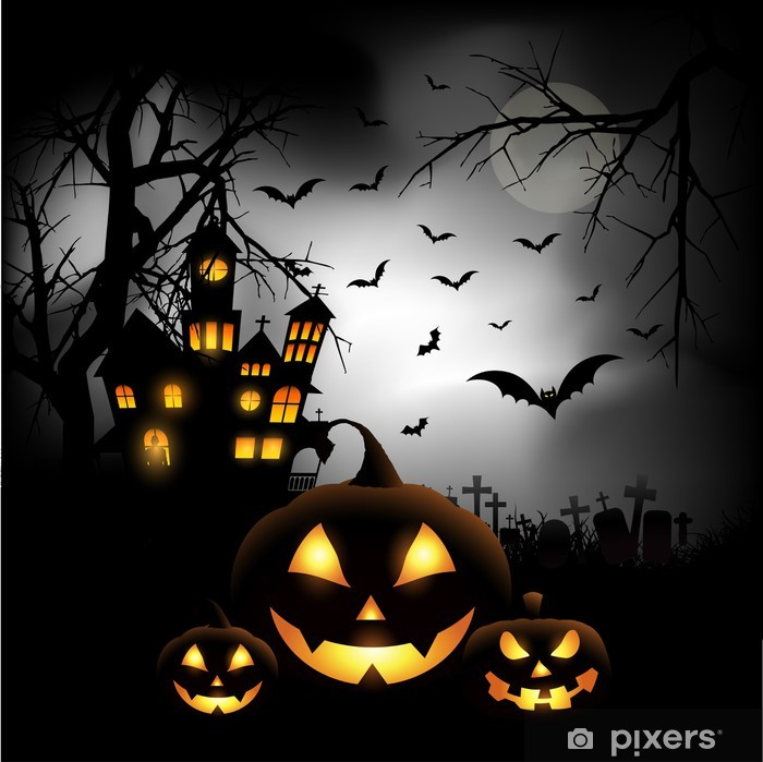 Halloween Background Wall Mural Pixers 174 We Live To Change