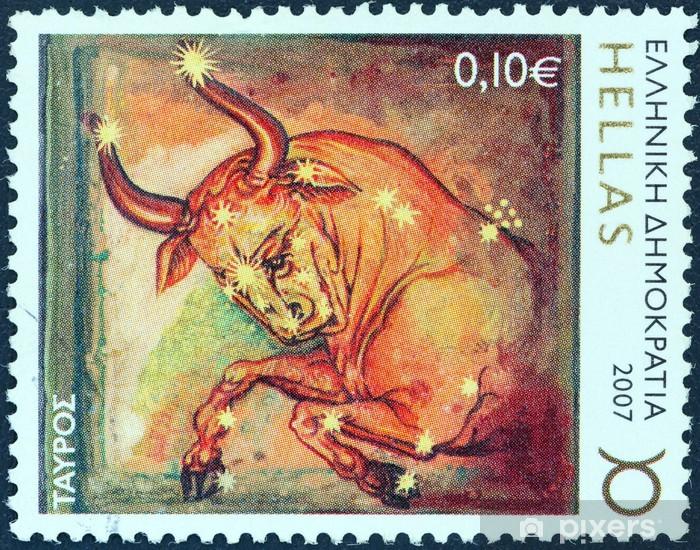 Vinylová fototapeta Taurus znamení zvěrokruhu (Řecko 2007) - Vinylová fototapeta