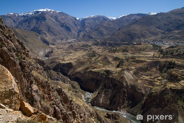 Fotomural Estándar Colca Canyon bei Chivay, Perú - Temas