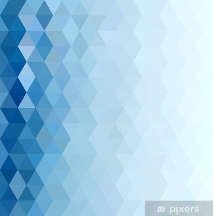 Aufkleber Abstract Blue Background Pixerstick