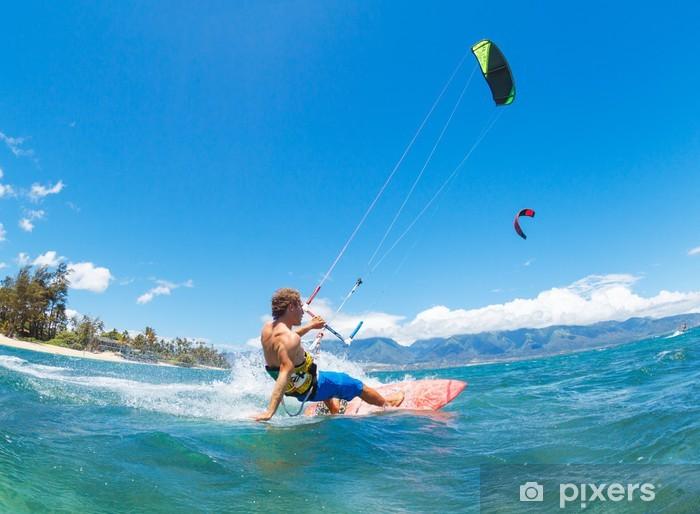 Fototapeta samoprzylepna Kiteboarding - Sporty wodne