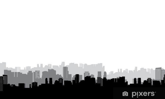 City Pixerstick Sticker - Wall decals