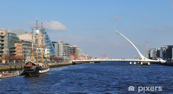 Fotomural Autoadhesivo Escena de Dublín - Europa