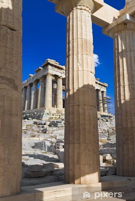 Fotomural Estándar La entrada a la Acrópolis en Atenas, Grecia - Vacaciones