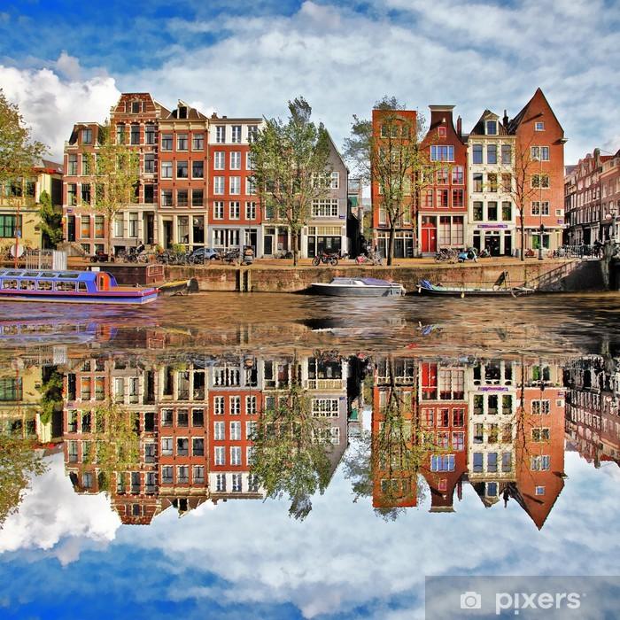 Fototapeta winylowa Piękny Amsterdam, Holandia - Tematy