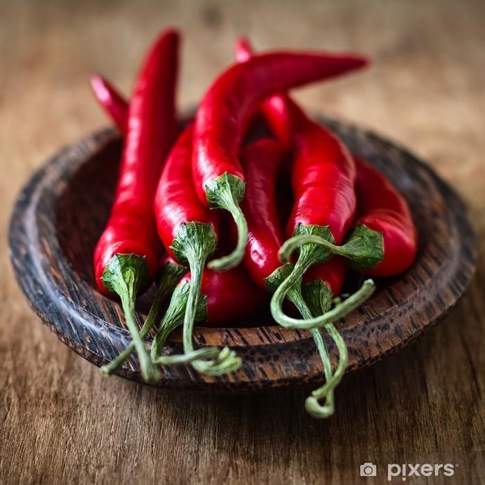 Poster Chili pepper - Gemüse