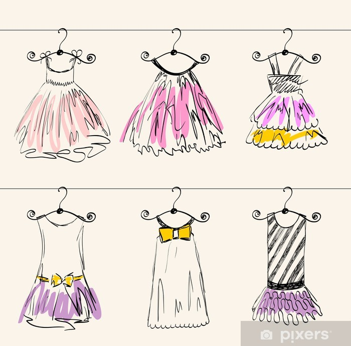 961f3f8dc469 Dekor Fashionabla vackra kläder för små flickor • Pixers® - Vi lever ...