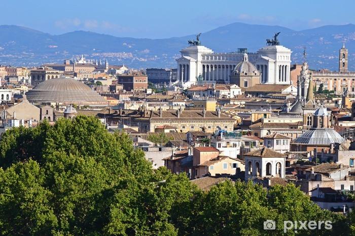 Roma Vista Dalla Terrazza Dell Angelo Sticker Pixerstick