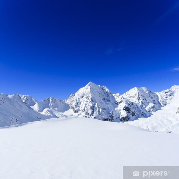 Nálepka Pixerstick Snow-limitován vrcholky italských Alp - Evropa
