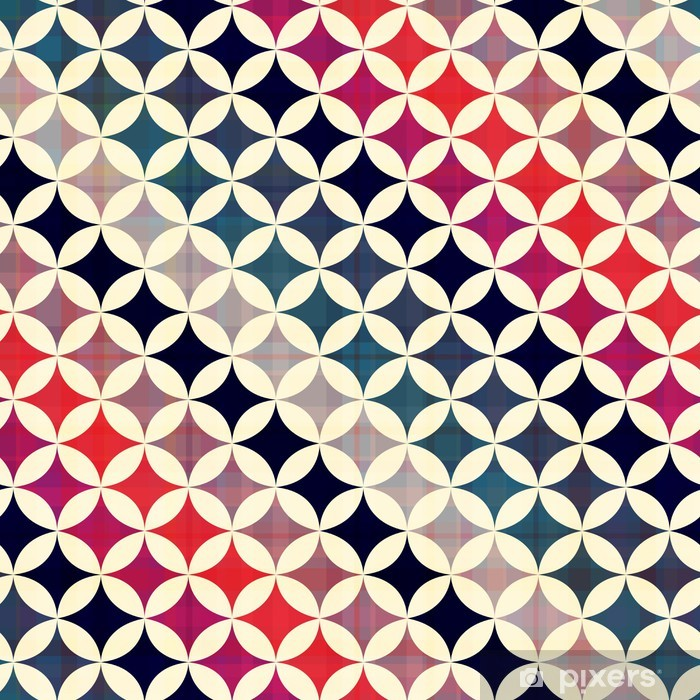 Sticker Pixerstick Transparente cercles texture de fond - Styles